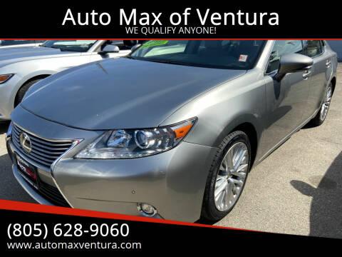 2015 Lexus ES 350 for sale at Auto Max of Ventura in Ventura CA