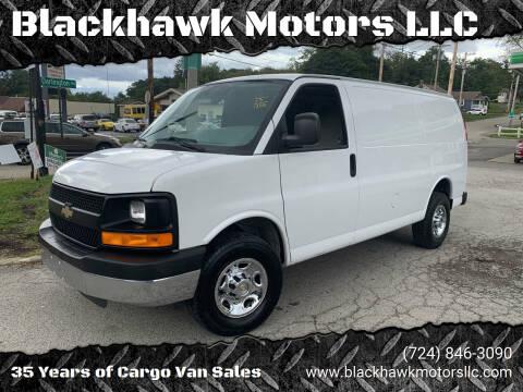 2013 Chevrolet Express Cargo for sale at Blackhawk Motors LLC in Beaver Falls PA