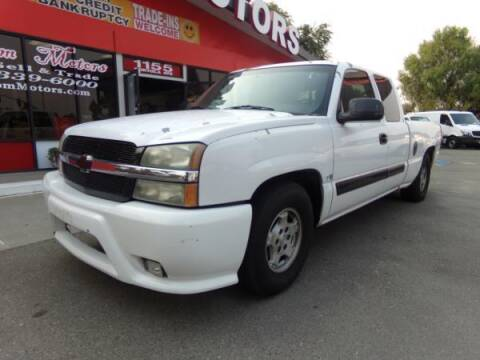 2003 Chevrolet Silverado 1500 for sale at Phantom Motors in Livermore CA