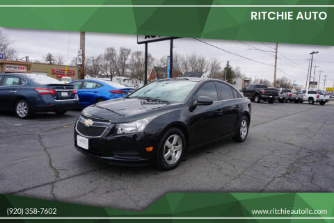 2012 Chevrolet Cruze for sale at Ritchie Auto in Appleton WI