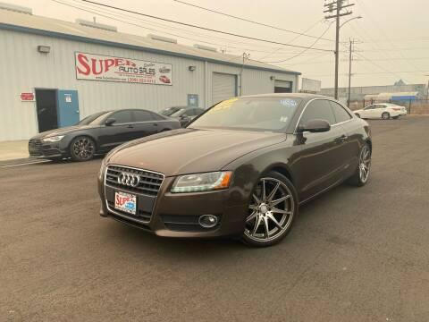 2012 Audi A5 for sale at SUPER AUTO SALES STOCKTON in Stockton CA