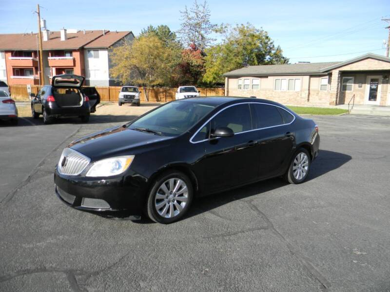 2016 Buick Verano for sale at INVICTUS MOTOR COMPANY in West Valley City UT