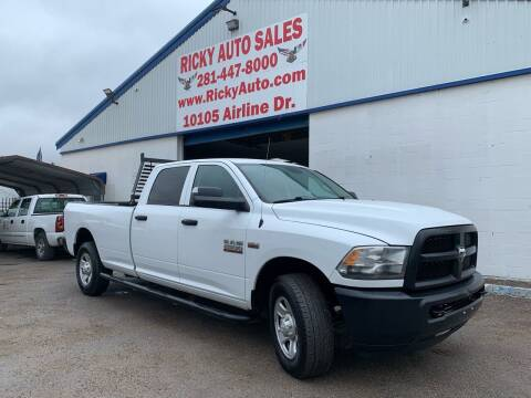 2015 RAM Ram Pickup 2500 for sale at Ricky Auto Sales in Houston TX