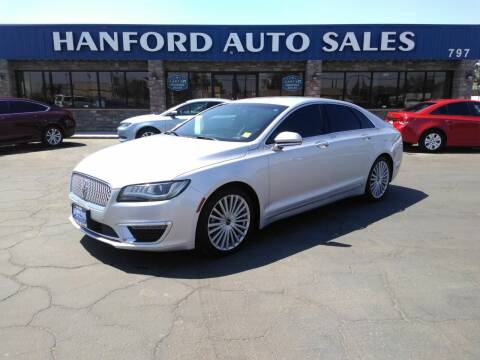 2017 Lincoln MKZ for sale at Hanford Auto Sales in Hanford CA