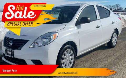 2014 Nissan Versa for sale at Midwest Auto in Naperville IL