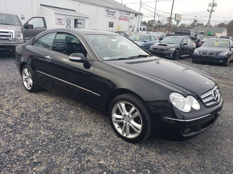 2008 Mercedes-Benz CLK for sale at CRS 1 LLC in Lakewood NJ