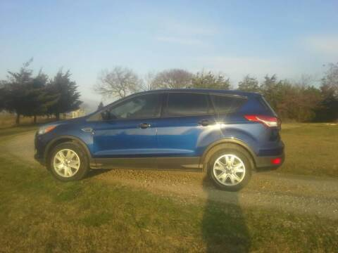 2013 Ford Escape for sale at CAVENDER MOTORS in Van Alstyne TX