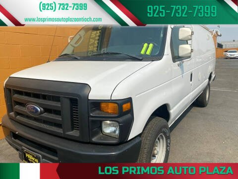 2011 Ford E-Series Cargo for sale at Los Primos Auto Plaza in Antioch CA
