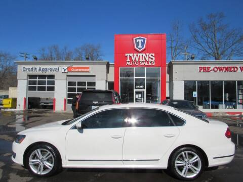 2014 Volkswagen Passat for sale at Twins Auto Sales Inc Redford 1 in Redford MI