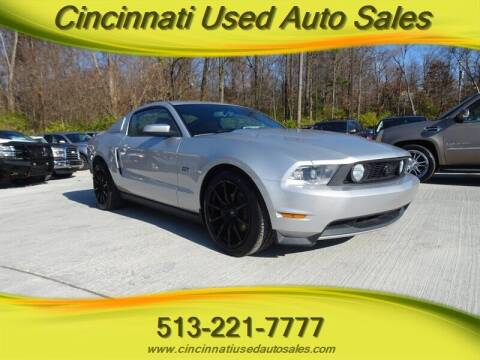 2010 Ford Mustang for sale at Cincinnati Used Auto Sales in Cincinnati OH