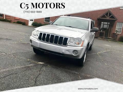 2005 Jeep Grand Cherokee for sale at C5 Motors in Marietta GA