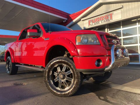 2008 Ford F-150 for sale at Furrst Class Cars LLC in Charlotte NC