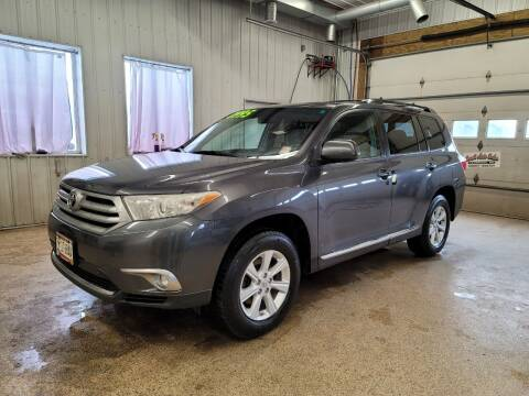 2011 Toyota Highlander for sale at Sand's Auto Sales in Cambridge MN