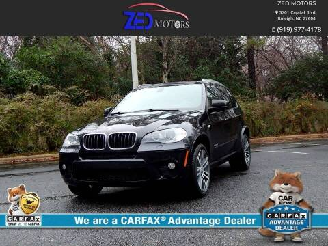 2013 BMW X5 for sale at Zed Motors in Raleigh NC