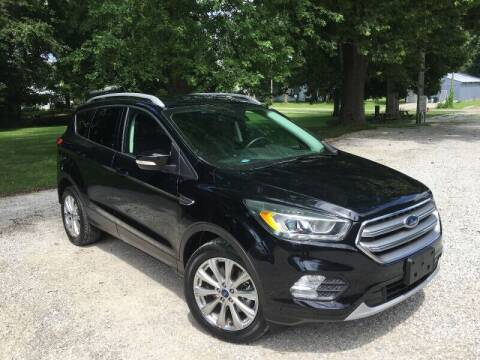2017 Ford Escape for sale at Kenny Vice Ford Sales Inc - USED Vehicle Inventory in Ladoga IN