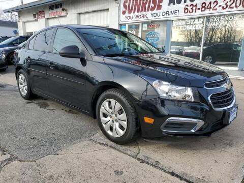 2016 Chevrolet Cruze Limited for sale at Sunrise Auto Outlet in Amityville NY