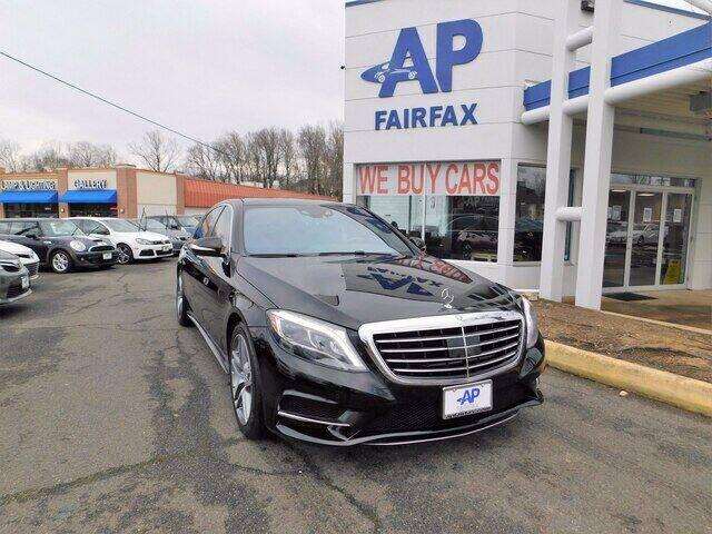 2015 Mercedes-Benz S-Class for sale at AP Fairfax in Fairfax VA