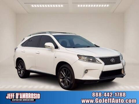 2015 Lexus RX 350 for sale at Jeff D'Ambrosio Auto Group in Downingtown PA