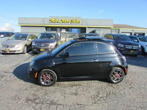 2013 FIAT 500 for sale at MIRA AUTO SALES in Cincinnati OH