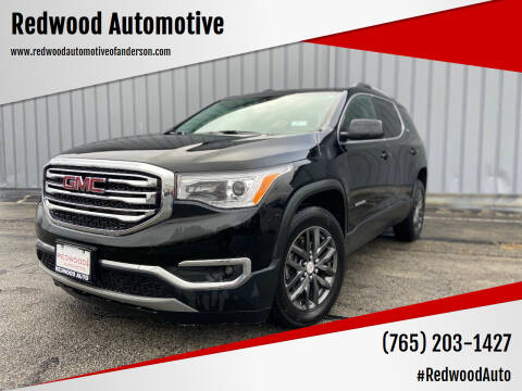2018 GMC Acadia for sale at Redwood Automotive in Anderson IN