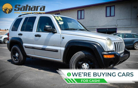2004 Jeep Liberty for sale at Sahara Pre-Owned Center in Phoenix AZ