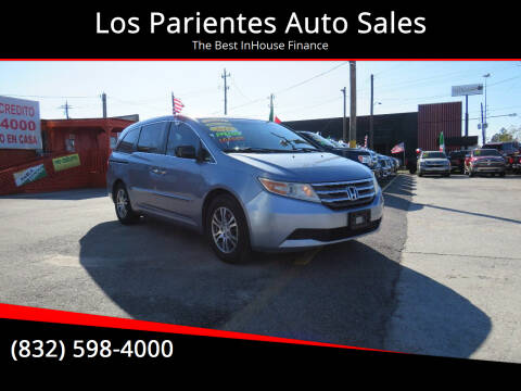 2012 Honda Odyssey for sale at Los Parientes Auto Sales in Houston TX