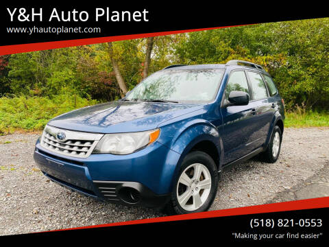 2013 Subaru Forester for sale at Y&H Auto Planet in West Sand Lake NY