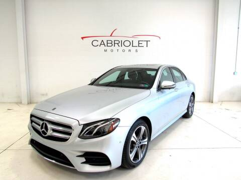 2020 Mercedes-Benz E-Class for sale at Cabriolet Motors in Morrisville NC