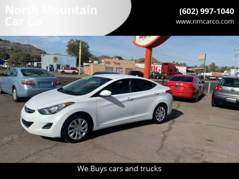 2011 Hyundai Elantra for sale at North Mountain Car Co in Phoenix AZ
