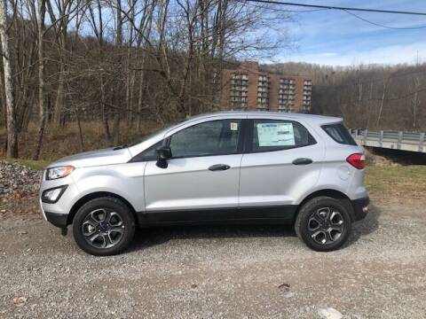 2020 Ford EcoSport for sale at WESTON FORD  INC in Weston WV