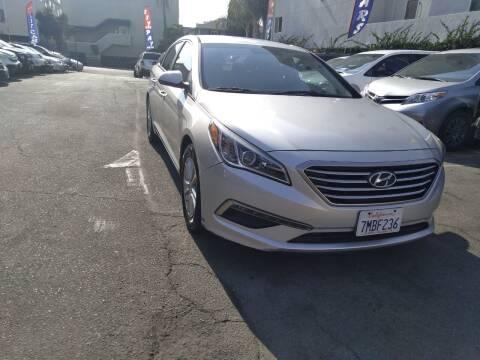2015 Hyundai Sonata for sale at Western Motors Inc in Los Angeles CA