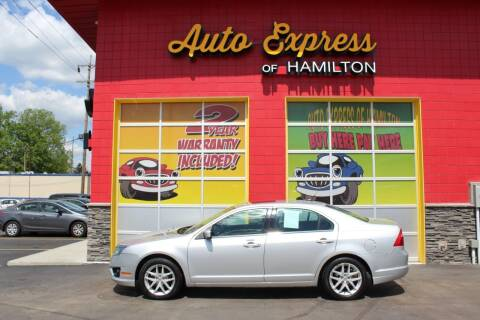 2010 Ford Fusion for sale at AUTO EXPRESS OF HAMILTON LLC in Hamilton OH