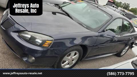 2008 Pontiac Grand Prix for sale at Jeffreys Auto Resale, Inc in Clinton Township MI