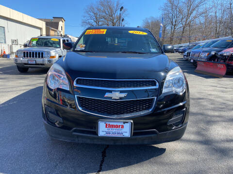 2015 Chevrolet Equinox for sale at Elmora Auto Sales in Elizabeth NJ