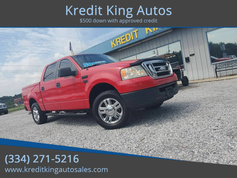 2008 Ford F-150 for sale at Kredit King Autos in Montgomery AL