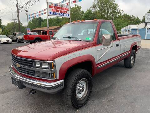 1991 Chevrolet C/K 2500 Series for sale at INTERNATIONAL AUTO SALES LLC in Latrobe PA