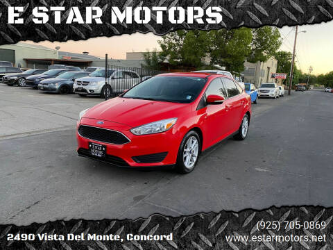 2015 Ford Focus for sale at E STAR MOTORS in Concord CA