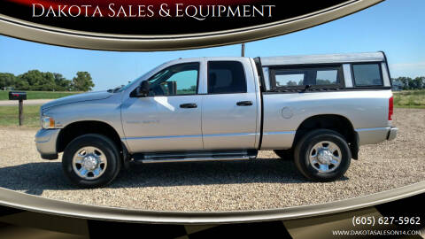 2003 Dodge Ram Pickup 2500 for sale at Dakota Sales & Equipment in Arlington SD