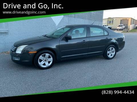 2007 Ford Fusion for sale at Drive and Go, Inc. in Hickory NC