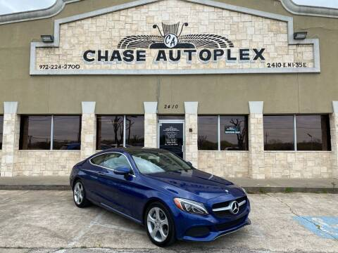2017 Mercedes-Benz C-Class for sale at CHASE AUTOPLEX in Lancaster TX