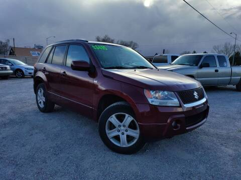 2008 Suzuki Grand Vitara for sale at Canyon View Auto Sales in Cedar City UT