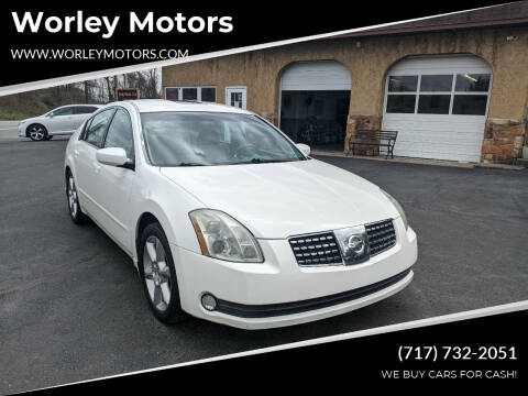 2006 Nissan Maxima for sale at Worley Motors in Enola PA