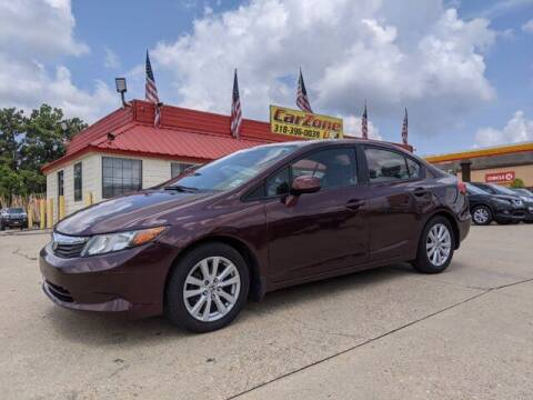 2012 Honda Civic for sale at CarZoneUSA in West Monroe LA