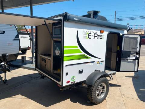 2021 Flagstaff EPRO 12 SRK for sale at ROGERS RV in Burnet TX