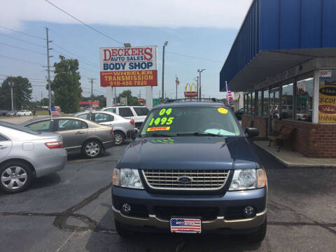 2004 Ford Explorer for sale at Deckers Auto Sales Inc in Fayetteville NC
