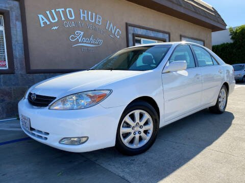 2004 Toyota Camry for sale at Auto Hub, Inc. in Anaheim CA