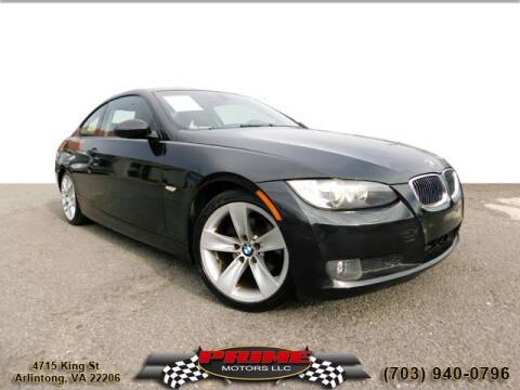 2009 BMW 3 Series for sale at PRIME MOTORS LLC in Arlington VA