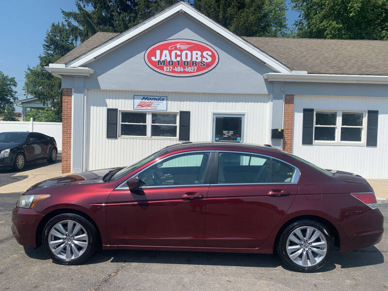 2011 Honda Accord for sale at Jacobs Motors LLC in Bellefontaine OH