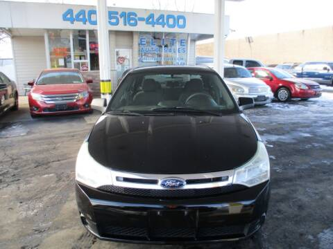 2010 Ford Focus for sale at Elite Auto Sales in Willowick OH