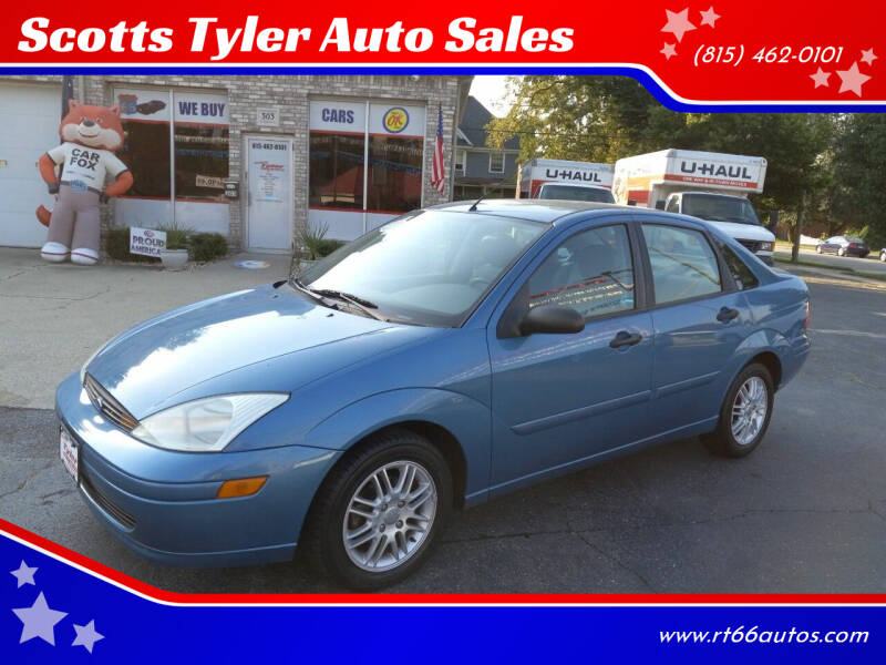 2000 Ford Focus for sale at Scotts Tyler Auto Sales in Wilmington IL